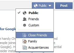 Facebook-Lists-social-media-agency Privacy Please: Keeping personal and professional separate on social networks