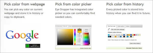 eye-dropper-web-app 8 Nifty Web Browser Apps