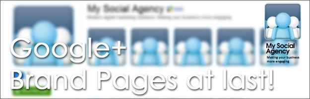 google plus brand pages