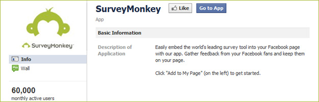surveymonkey Beyond Farmville – the Best Facebook Apps.