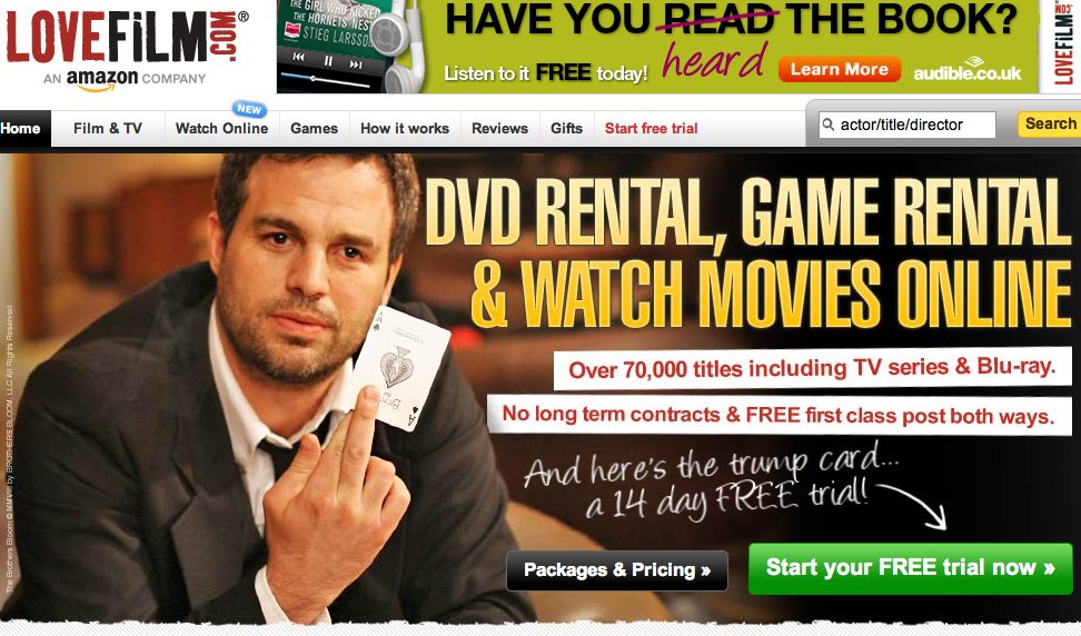 video%20production%20online%20rental YouTube vs. Lovefilm - A New Choice in Online Video Rental