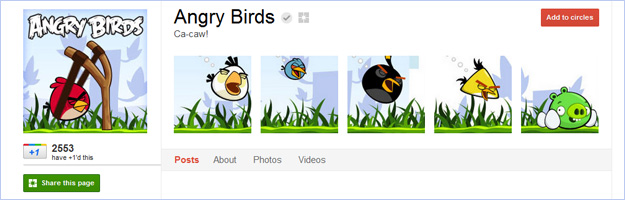 google-plus-digital-marketing-angry-birds Google+ - Brand pages at last!