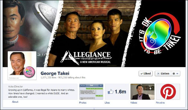 george_takei Social Media and the Fame Game