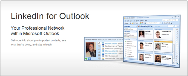 linkedin_for_outlook LinkedIn to Provide Better Outlook Integration