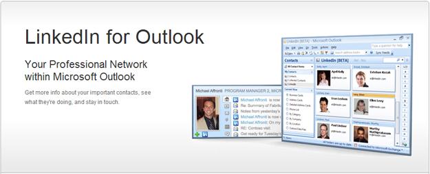 linkedin_for_outlook LinkedIn to Provide Better Outlook Integration