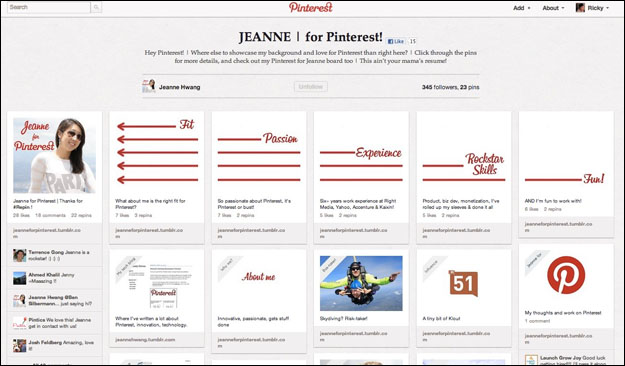 jeane_for_pinterest Will social media replace the traditional CV?