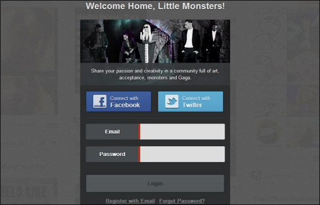 littlemonsters-ladygaga Lady Gaga Launches Social Network For Fans