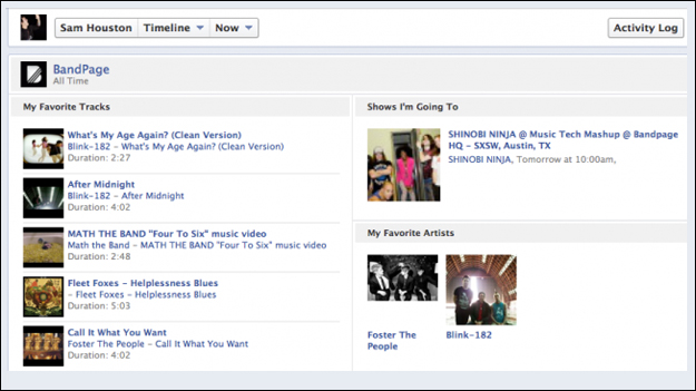 band_page_timeline Facebook to go Head to Head with Google (again)?