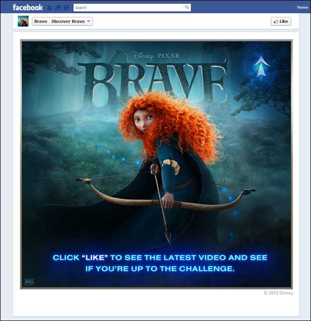 brave_pixar_facebook Social Media and the Summer Blockbusters