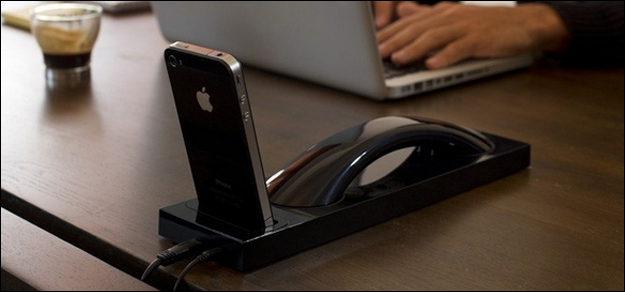 Turn your iPhone into a desk phone