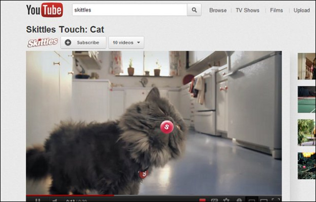 skittles_touch_cat 3 Things That Were Pretty Much Invented By YouTube