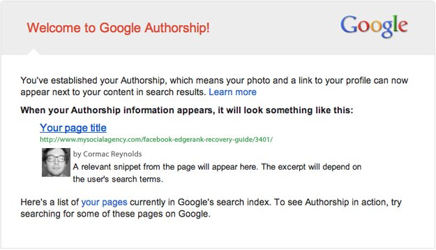 google-authorship Google+ Tips for Post Facebook Slump