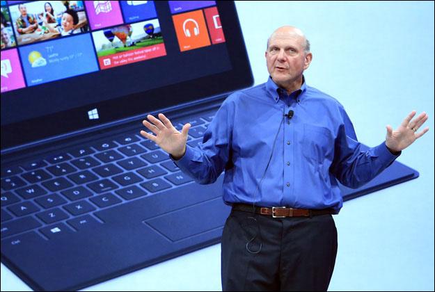 steve-ballmer-surface Is Microsoft the New Apple?