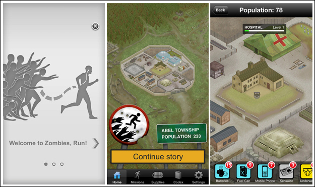 zombies run Top Five iPhone Fitness Apps