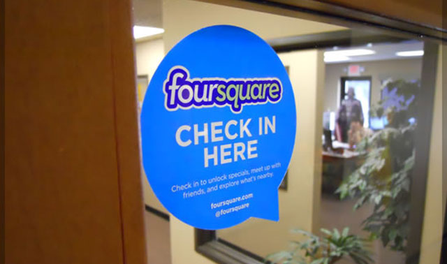 check-in-here-foursquare-for-business Foursquare for Business - 5 Tips