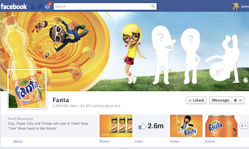 fanta-timeline Lessons from Facebook 2012 - Best and Worst