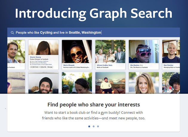 Introducing facebook graph search Can Facebook Graph Search Compete with Google?