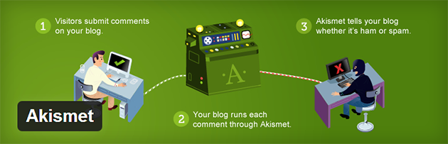 akismet wordpress plugin 7 Great WordPress PlugIns