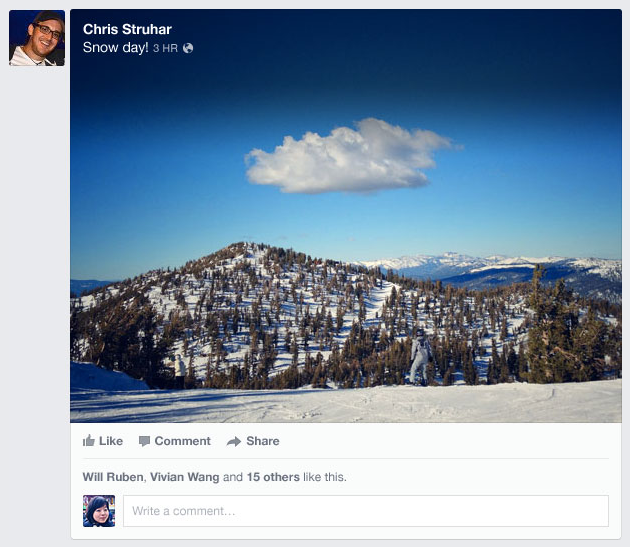 facebook newsfeed photo 5 Tips to Benefit from the New Facebook News Feed