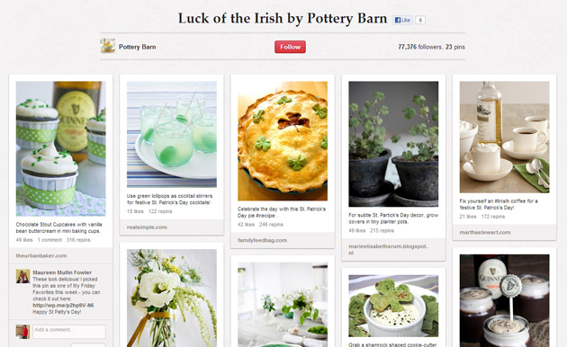 saint patricks day pinterest 5 Great Green Social Media Tips for St Patrick's Day