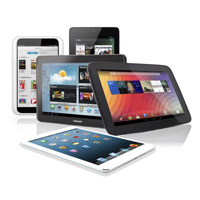 Tablet sales soar