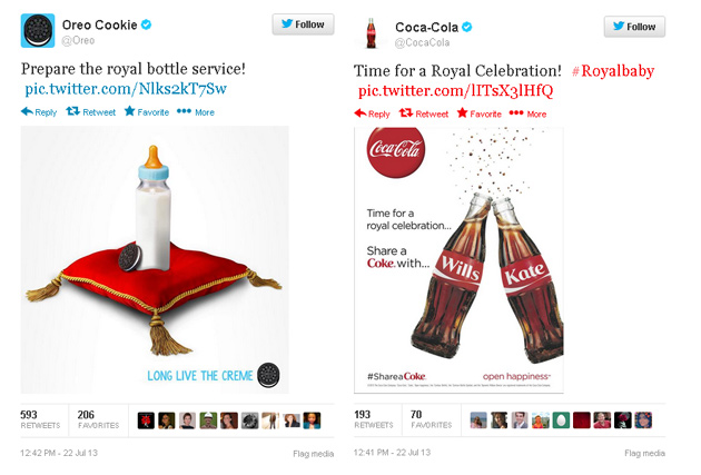 coke-oreo-royal-baby How To Avoid Royal Brand Embarrassment