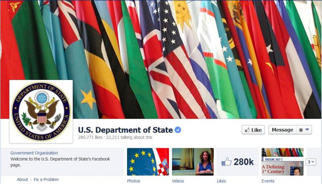 us-state-department-facebook-spend Saturday Social: Vine Reacts to Instagram, Google Privacy Concerns