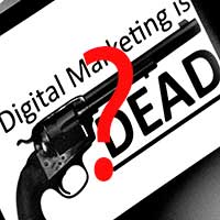 Digital-Marketing-Dead Saturday Social - Digital Marketing Almost Dead? Latest Stats in Social, Google's Health Venture, YouTube Introduce Offline Video