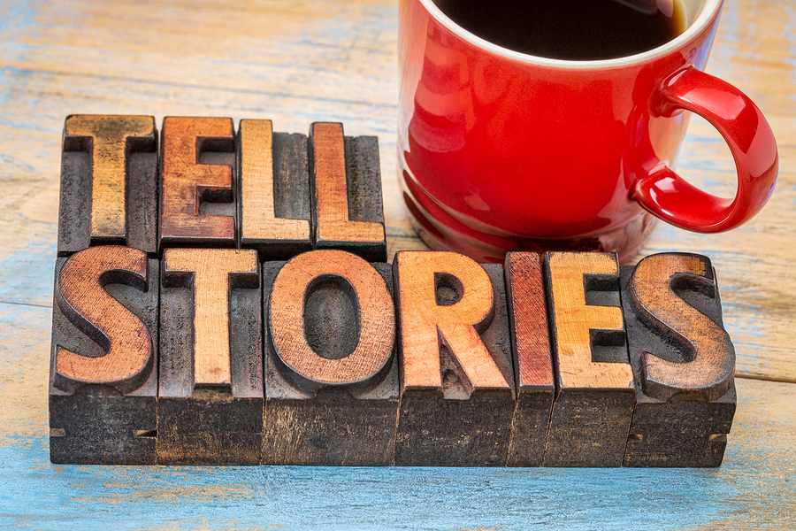 bigstock-tell-stories-word-abstract-t-115722998-1 Using storytelling to present your brand