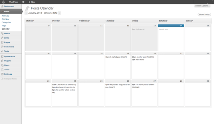WP-editorial-calendar-plugin 5 Content Calendar Tools That Will Change Your Life