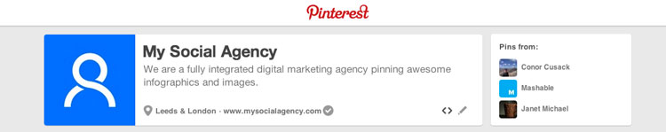 Pinterest-Profile How to Make Pinterest a Key Part of Your Social Media Strategy