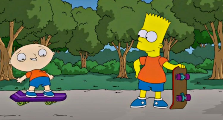 Simpsons-and-Family-Guy Saturday Social –Yahoo Acquire Blink, the Internet of Things and Prince Harry Takes to Twitter