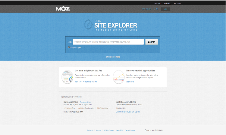 moz-link-analysis-page 3 Great Google Chrome Extensions to Analyse Potential Link Partner Websites
