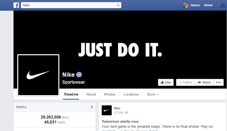 nike-cover Why You Should be Using Facebook in Your Digital Marketing Strategy