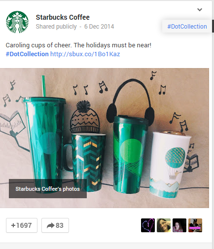 google-plus-example How to Structure Social Posts to Maximise Clicks