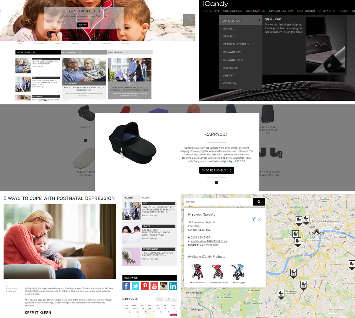 iCandy: Optimising eCommerce - Example Work