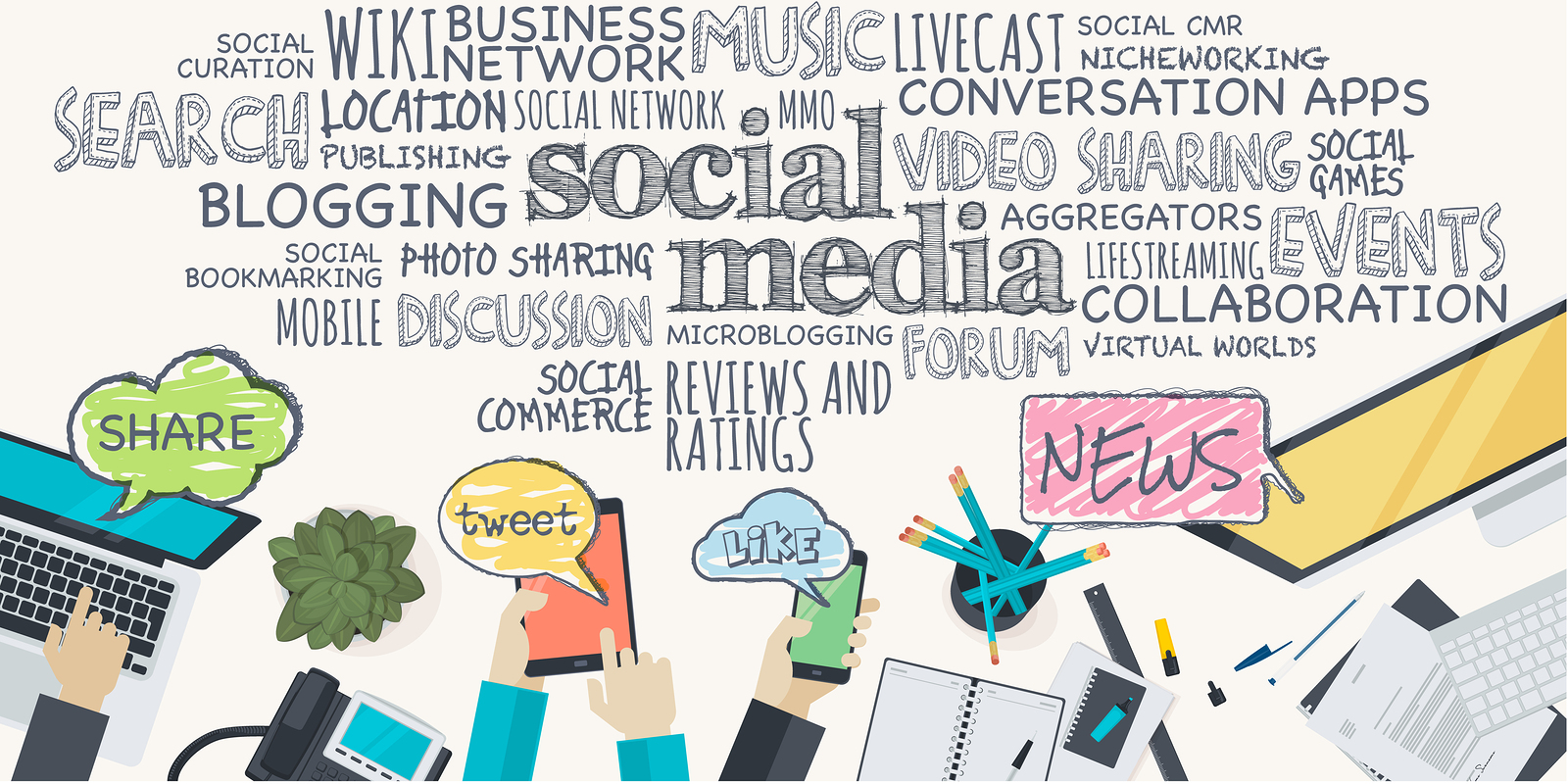 bigstock-Flat-design-illustration-conce-82127387-1 A Six Step Guide to Successful Social Media Event Promotion