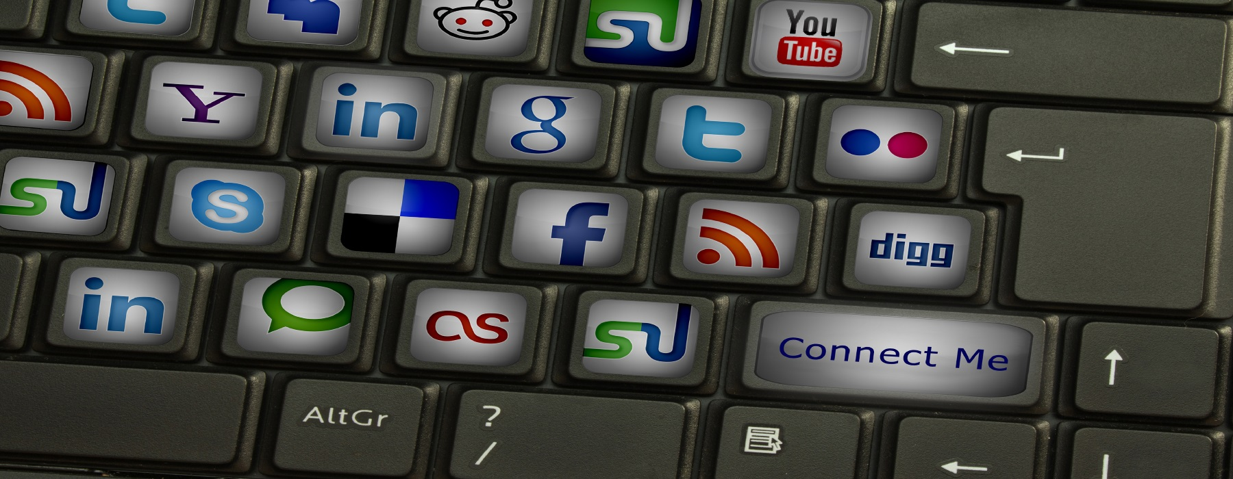 social-keyboard-1 Social Network Best Practices for Sharing