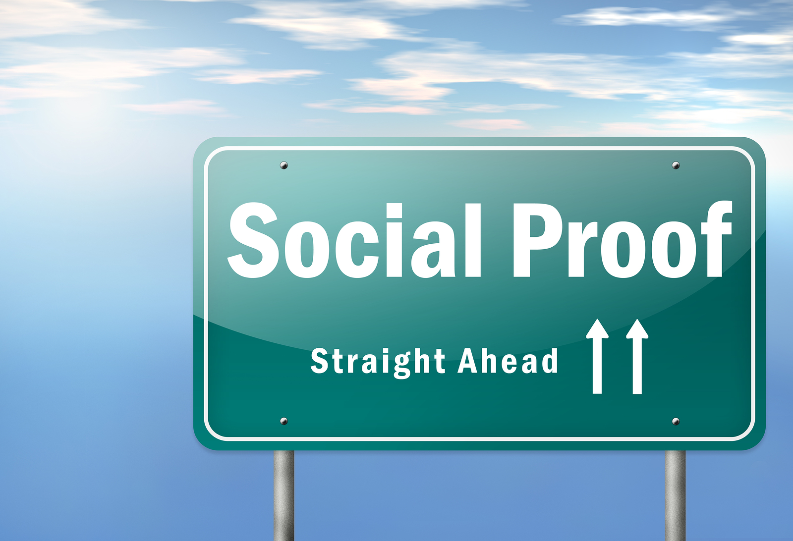 bigstock-Highway-Signpost-Social-Proof-62348297-1 How to Utilise Social Proof to Increase Your Conversions