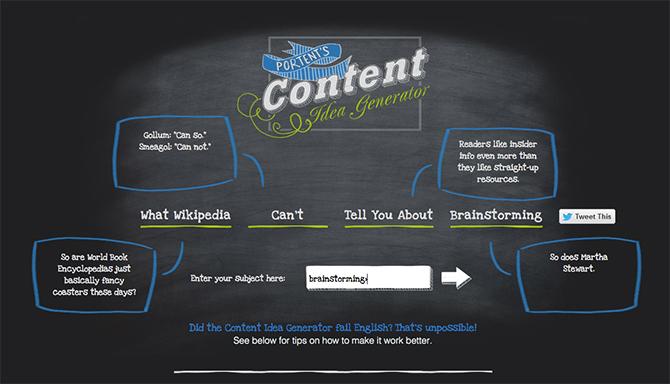 portent 5 Fantastic Online Tools For Effective Brainstorming and Idea Generation