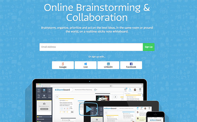 stormboard 5 Fantastic Online Tools For Effective Brainstorming and Idea Generation