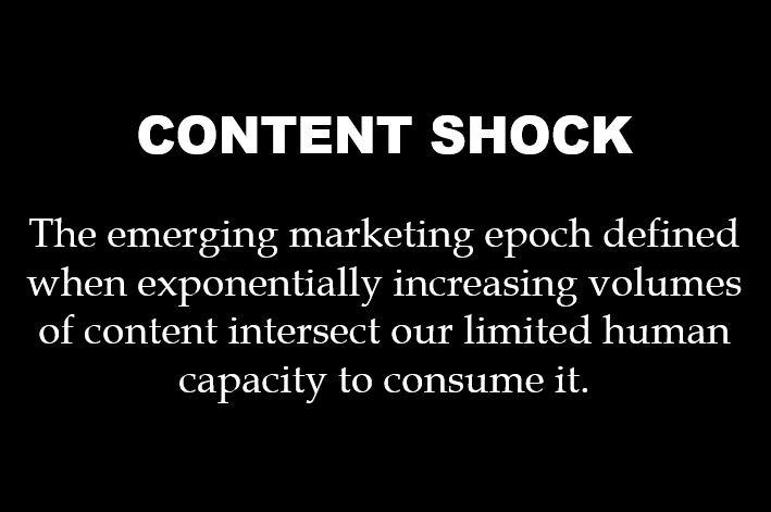 Content-Shock-definition Surviving Content Shock: Why it's Quality Not Quantity that Counts