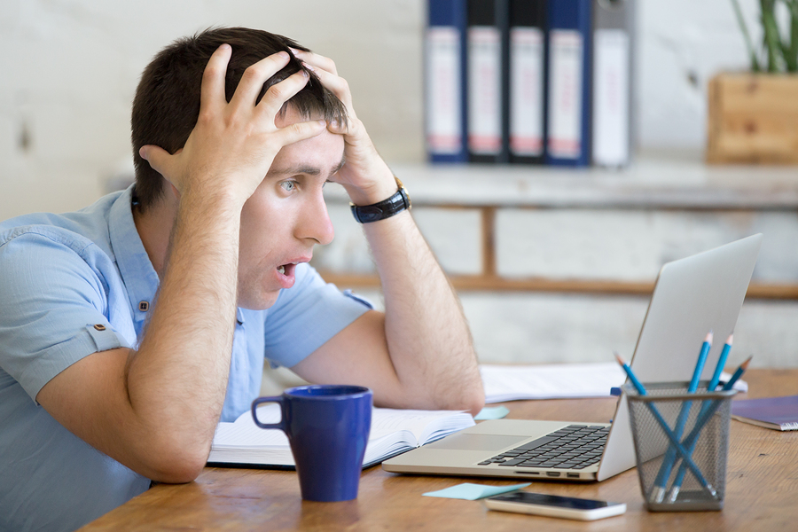 bigstock-Young-Shocked-Office-Man-Looki-143681414 Surviving Content Shock: Why it's Quality Not Quantity that Counts