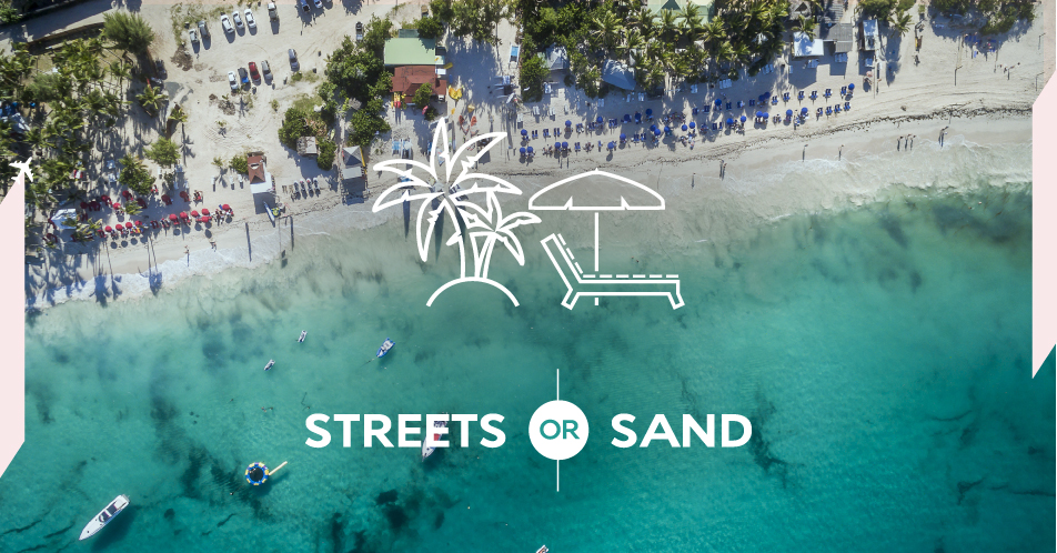 Air France: #StreetsOrSand - Example Work