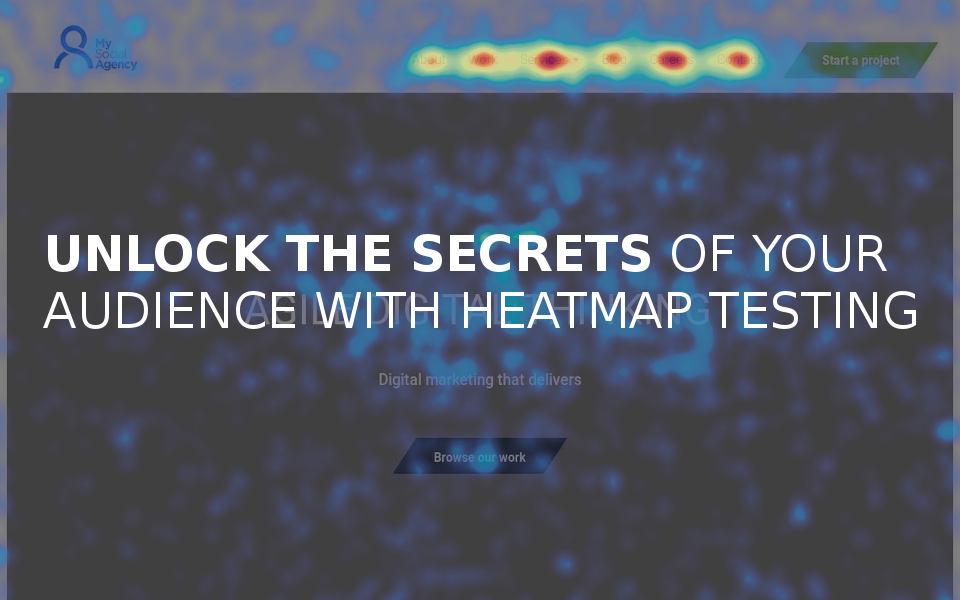Homepage-heatmap Unlock the Secrets of Your Users with Heatmap Testing