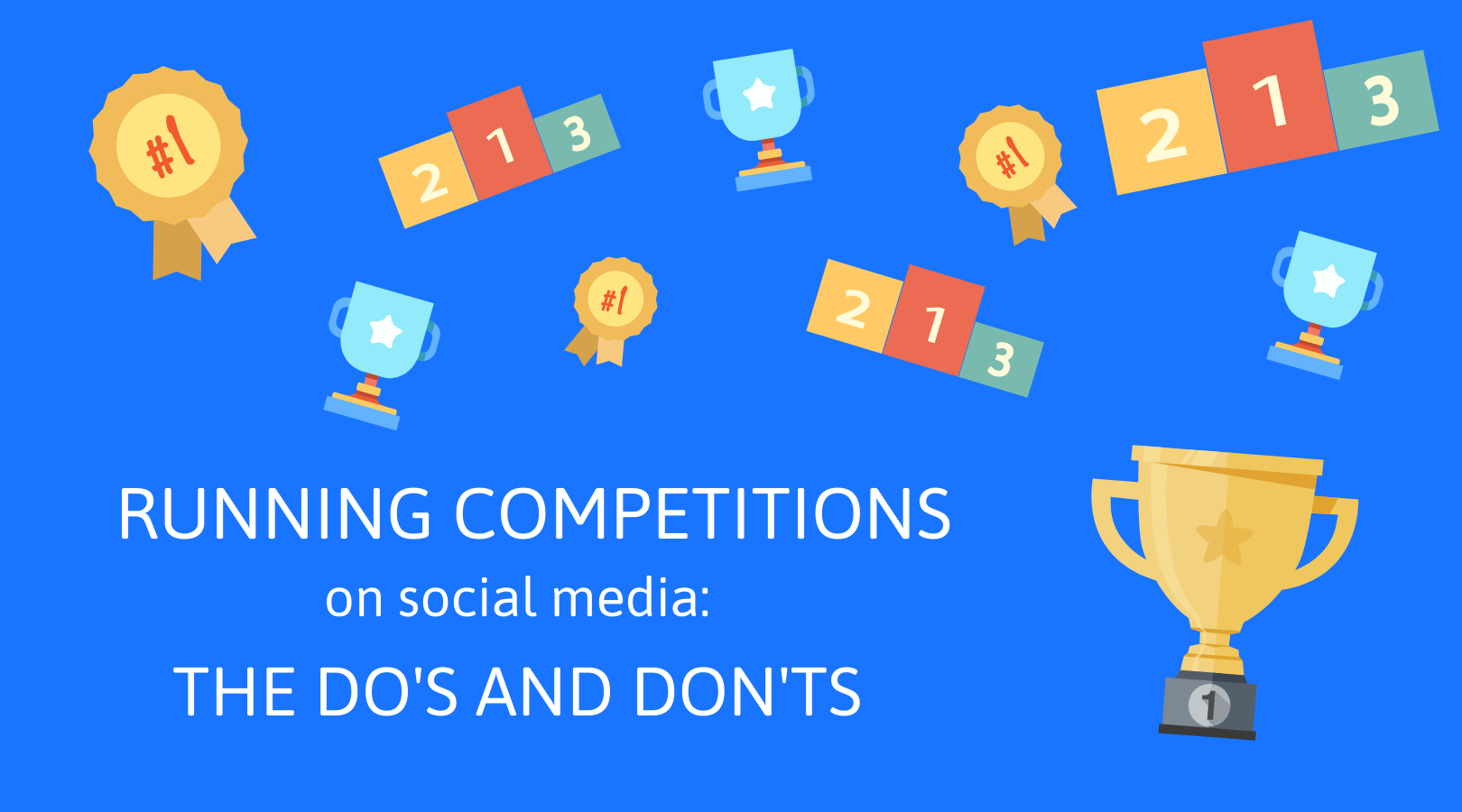 3 Running competitions on social media - the do's and don'ts.