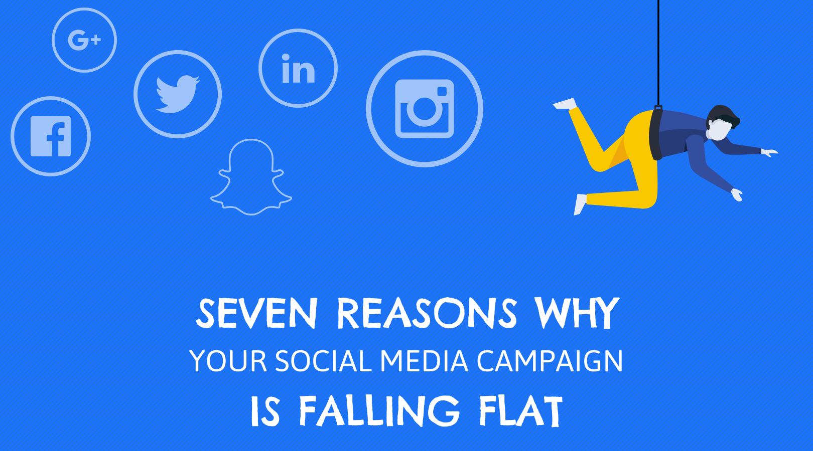 4 Seven reasons why your social media activity is falling flat