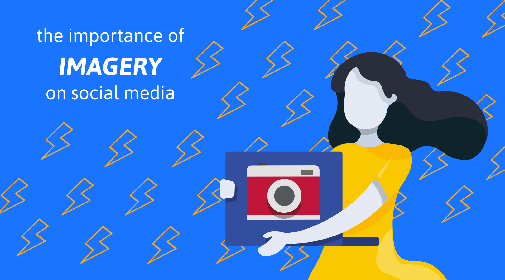 6 The importance of imagery on social media.